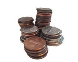 money pennies change