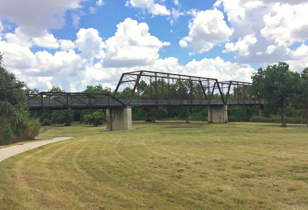 Moore's Crossing Bridge near Austin Texas