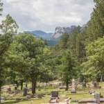 Mountain View Cemetery; The Only Cemetery With A View of Mount Rushmore
