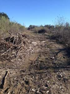 Sidewinder Trail is No More at Dana Peak Park