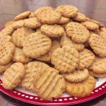 Easy peanut butter cookies