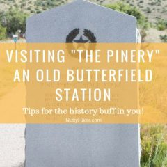 The Pinery Nature Trail & Butterfield Station   Guadalupe Mountains Nat'l Park