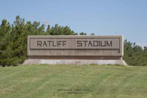 Ratliff Stadium is the home and filming location of Friday Night Lights a book based on the true story of a West Texas High School Football Team.