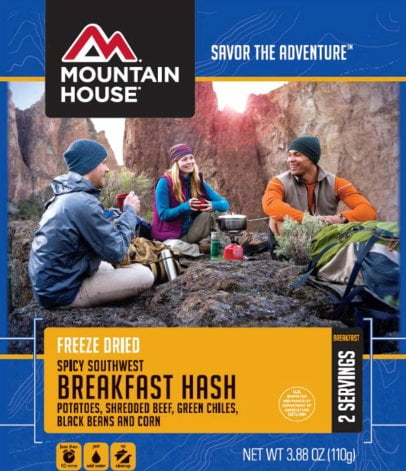 Mountain House Spicy Southwest Breakfast Hash Recalled