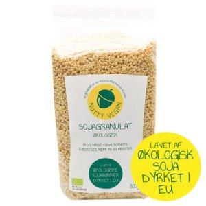 Sojagranulat økologisk - soya fars køb online Nutty vegan