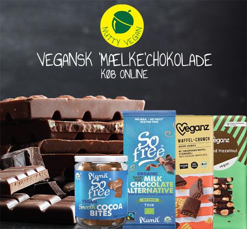 vegansk mælkechokolade køb