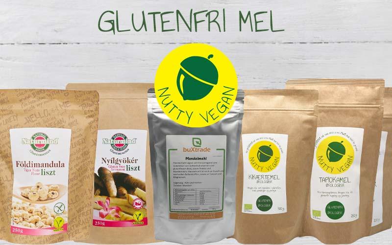 glutenfri produkter - glutenfri mel