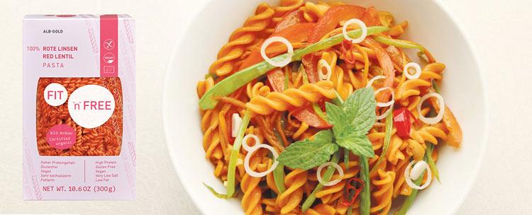 linsepasta køb - glutenfri pasta af linser
