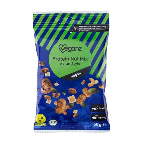veganske snacks køb online - vegansk nøddeblanding - veganz protein nut mix