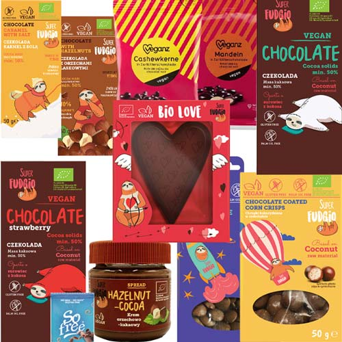 vegansk glutenfri chokolade køb online