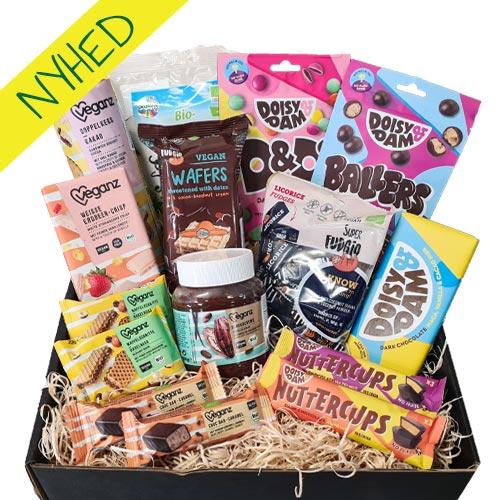 vegansk-gavekurv - vegansk-snackbox gave-til-veganer-