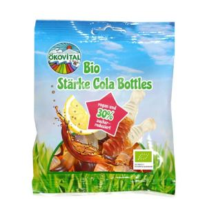 vegansk colavingummi - colaflasker uden gelatine