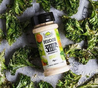 Deliciou veggie dust - deliciou krydderier i danmark