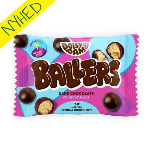 veganske maltesers - ballers veganske snacks