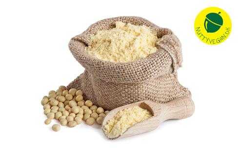 soja protein isolat tilbud - vegansk proteinpulver