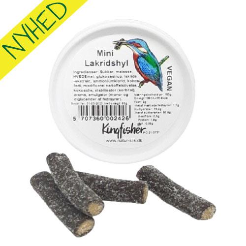 vegansk lakrids - vegansk slik - lakridshyl kingfisher