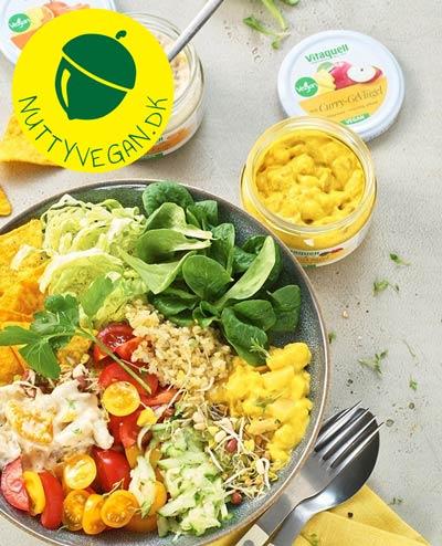 vegansk hønsesalat køb online - vitaquell vegan salat