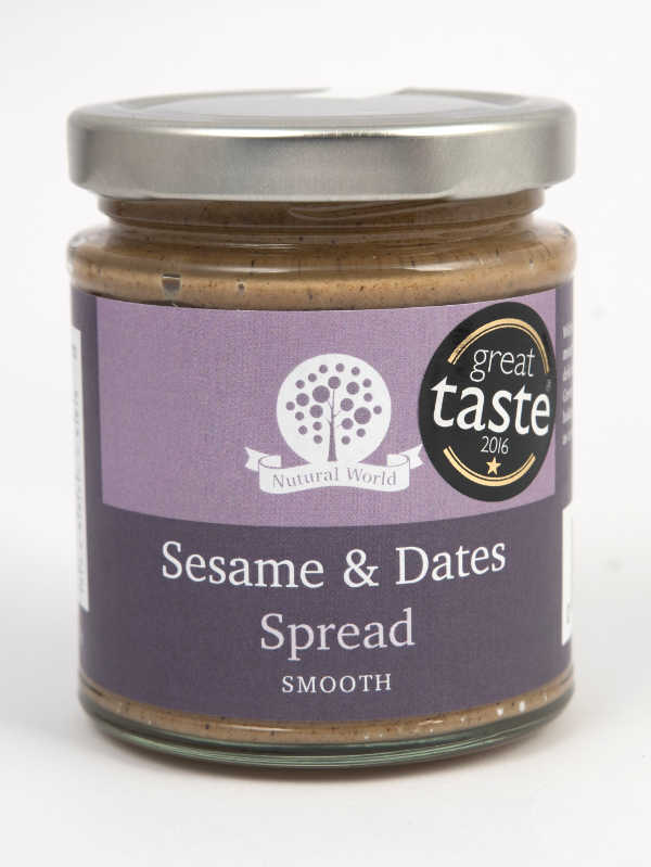 Sesame and Dates Spread Smooth 170gr