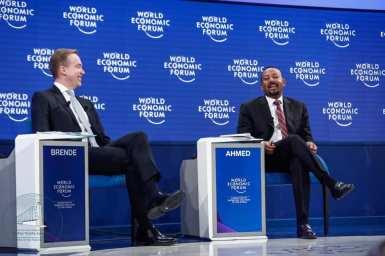 Dr Abiy Davos11