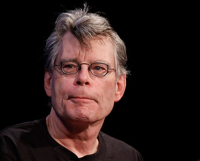 NEW YORK - OCTOBER 02:  Author Stephen King speaks at the 2010 New Yorker Festival at Acura at SIR Stage37 on October 2, 2010 in New York City.  (Photo by Joe Kohen/Getty Images the New Yorker)