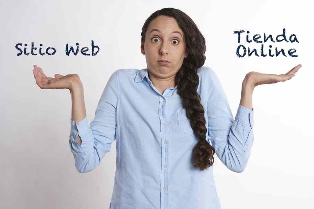 duda sitio web o tienda en línea