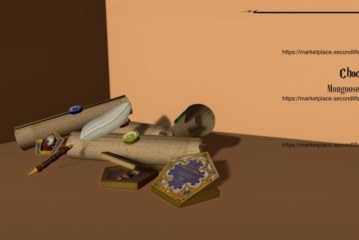 Hogwarts in Second Life – The Props