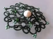 Ciondolo Andalusia verde prospettiva