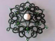 Ciondolo Andalusia verde