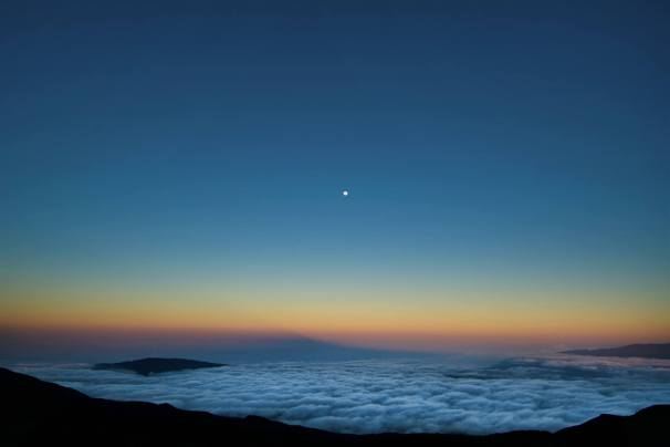 La Reunion Piton des Neiges Sonnenaufgang Wanderung