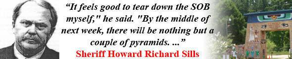Sheriff Howard Richard Sills