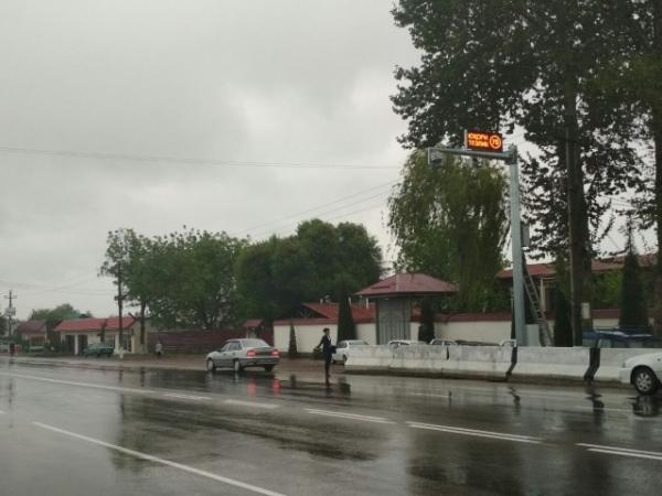 УВД Ташкентской области сообщило, на каком участке трассы «Ташкент-Ош» установлен новый фоторадар