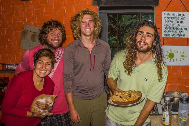 Piñon, Elif, Brad, David ve Ross