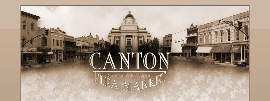 Canton Flea Market Website Design by Nuzu Net Media