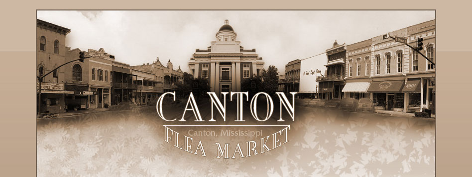 Canton Flea Market Website Design by Nuzu Net Media