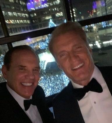 DM Lifetime Achievement Award DM and Dolph Lundgren