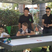 Robotics game at the carnival
