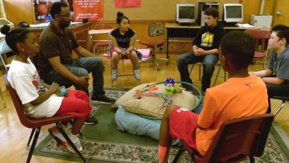 Edna-Brewer-Restorative-Justice-Mid School Youth-Circle