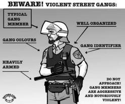 The Police are a Gang