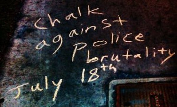 Chalk the Police State Wherever you Are.