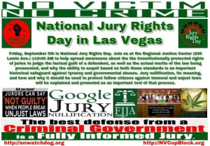 Sept. 5th is Jury Rights Day