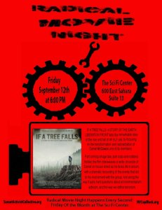 """September's Radical Movie Night Features a Free Screening of """"If a Tree Falls"""""""