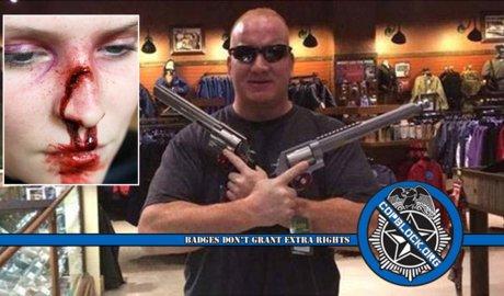 LVMPD Police Brutality Excessive Force Officer Richard Scavone