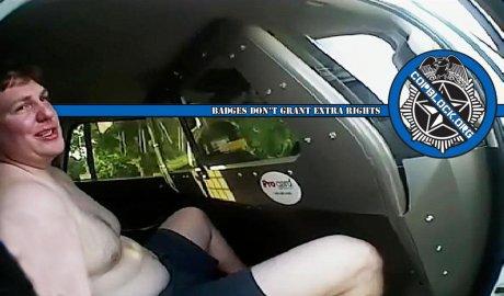 Half Naked Somervell County Texas Deputy Cox Church Shooting