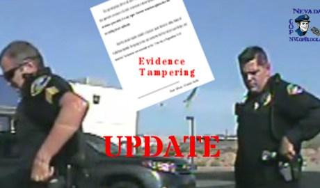 Nevada Police Sgt John Glenn Motion to Dismiss Dash Cam Audio