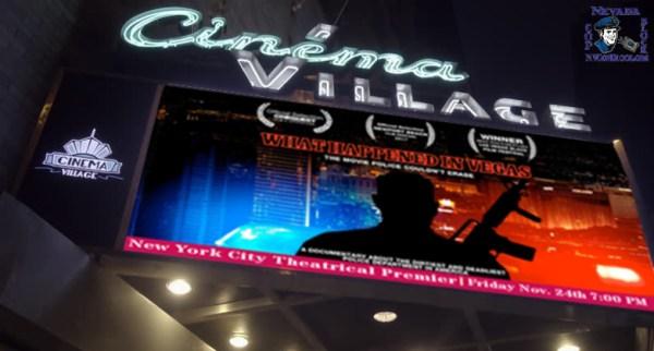 New York Premier What Happened in Vegas Cinema Village Theater