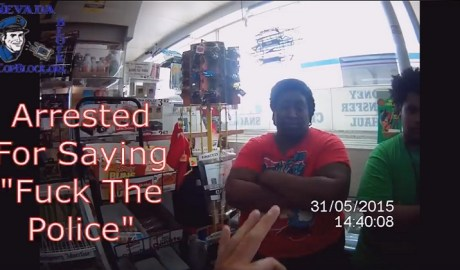 Arrested by Alabama Cop For Saying Fuck The Police