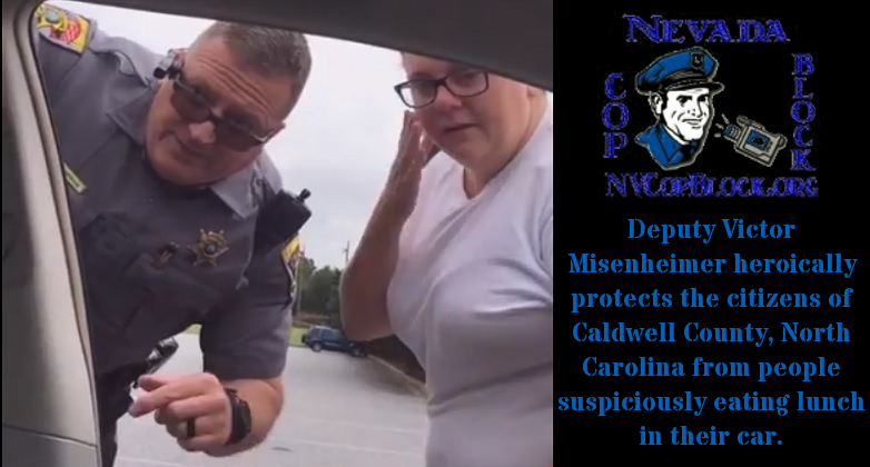 North Carolina Deputy ID Couple Suspiciously Eating Lunch