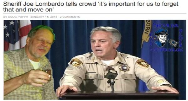 Sheriff Joe Lombardo LVMPD Las Vegas Shooting