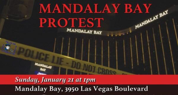 October 1st Shooting Protest Mandalay Bay