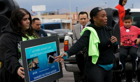 Dominik Archibald Mother of Barstow Police Murder Victim Nathanial Pickett
